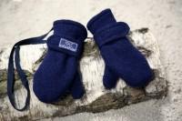 Handschuhe Armstulpen aus Wolle , Wolle/Seide