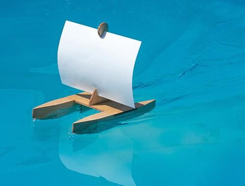 Kàri - Bausatz für ein Segelboot