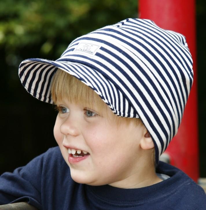 Mütze Erik blau natur