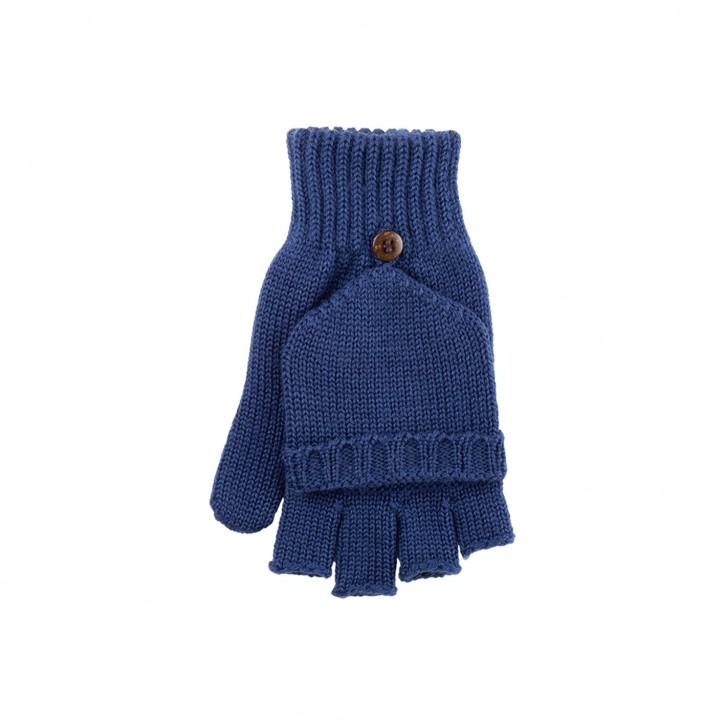 Halbfinger Handschuhe /Faust für Kinder jeans