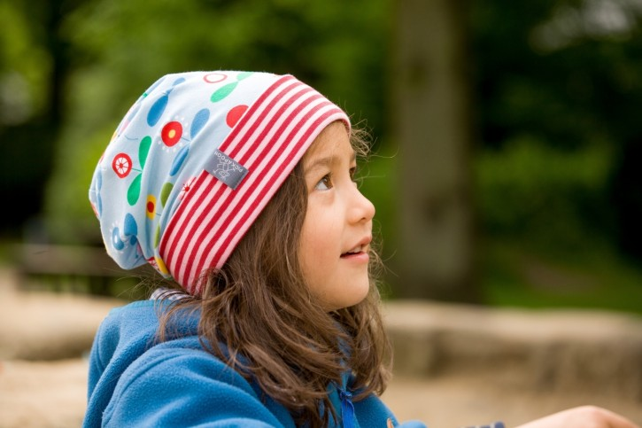 Mütze Luca Blumen