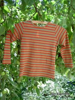 x-shirt bunter Ringel