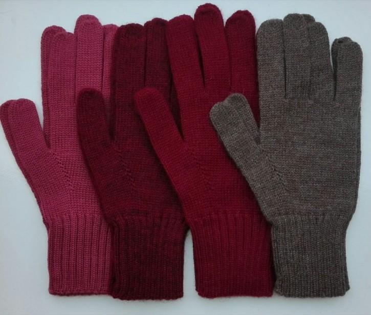 Fingerhandschuhe  Alpaka