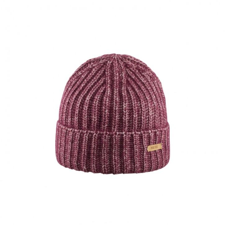 Erwachsenen Umschlag Mütze burgundy