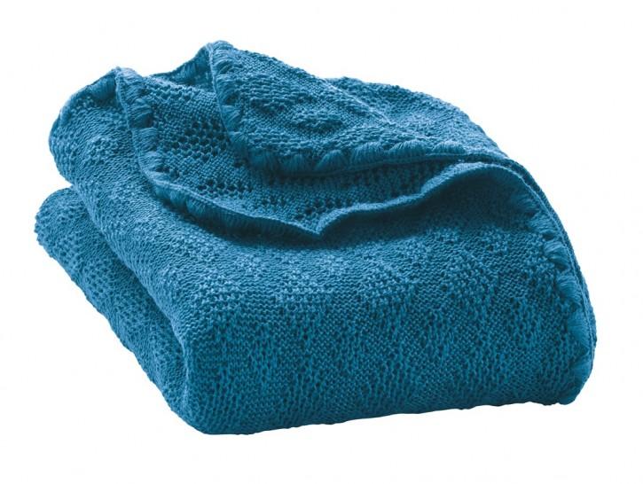 disana Woll -Babydecke 80x100cm blau