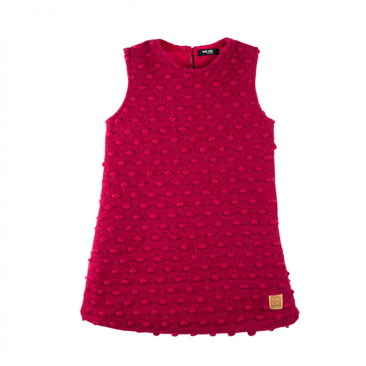 Mini Kleid Walk burgundy