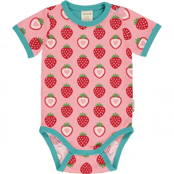 Body kurzarm maxomorra Erdbeere