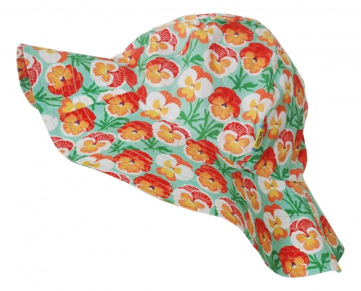 Sommerhut Stiefmütterchen orange/ sun hat pansy
