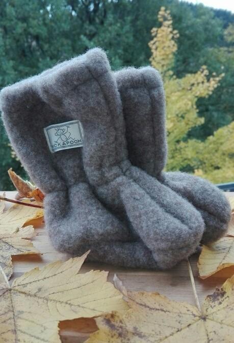 Stiefel aus Wollfleece