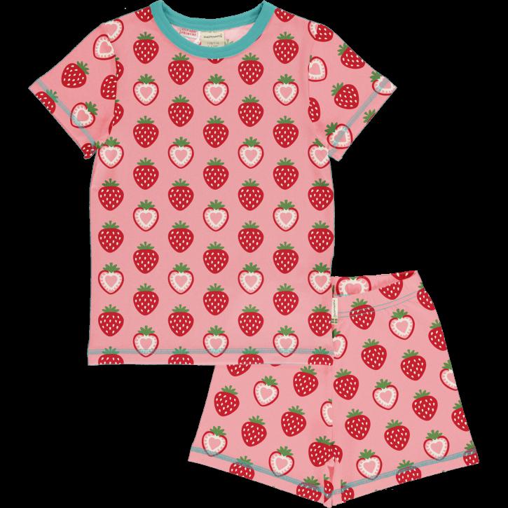 Schlafanzug Set Erdbeere