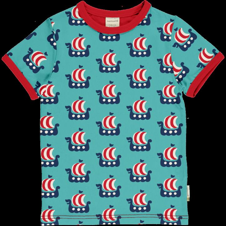 T-shirt Wikinger Schiff