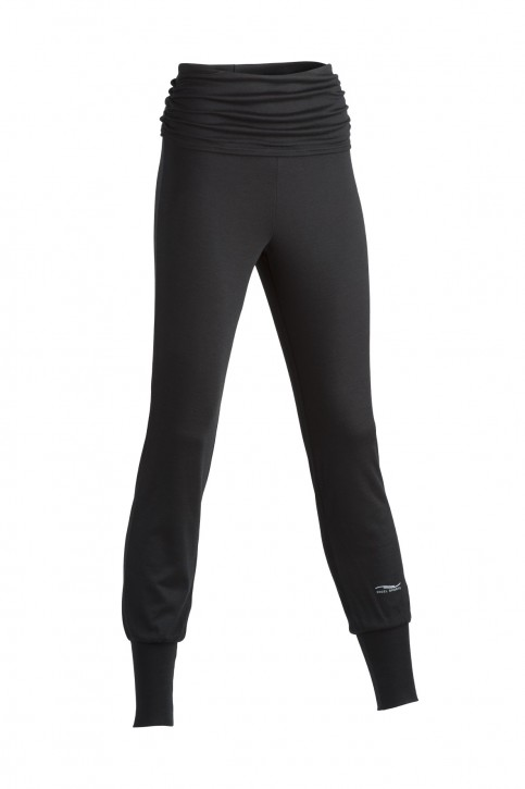 Yoga Hose schwarz