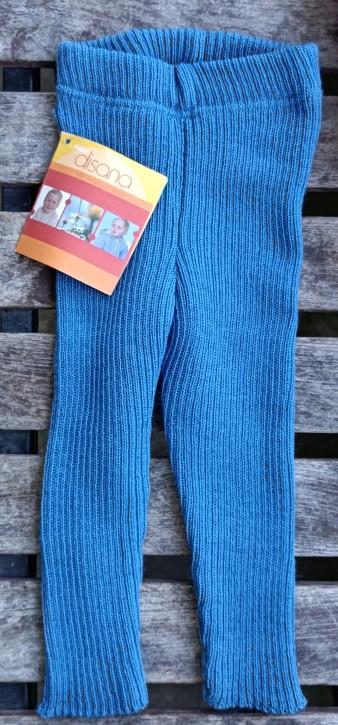 """disana Strick leggings """"altes blau"""""""