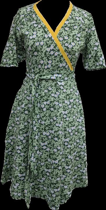 Wickelkleid Busch Windröschen / Wrap dress Wood A