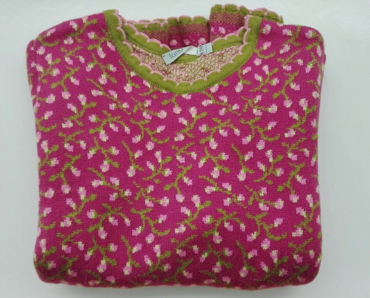 Pullover Lena berry orchidee Größe 128