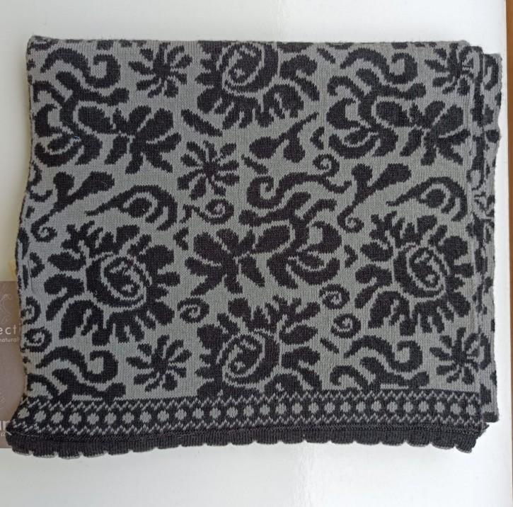 Schal aus Baumwolle Marylin grey