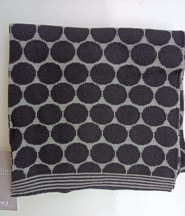 Schal aus Baumwolle punto grey