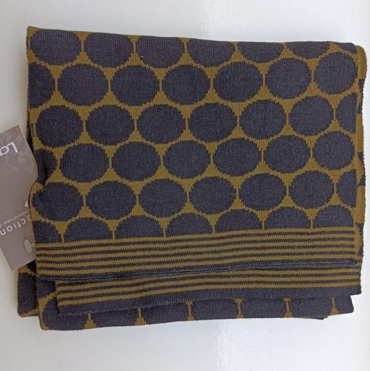 Schal aus Baumwolle punto moor