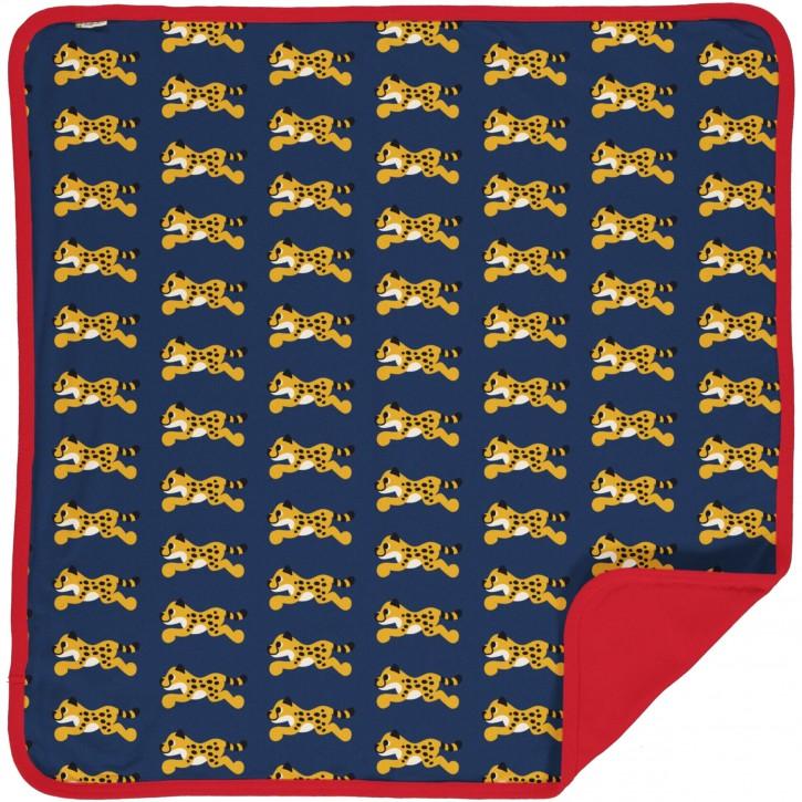 Decke velour Gepard  blanket velour cheetah
