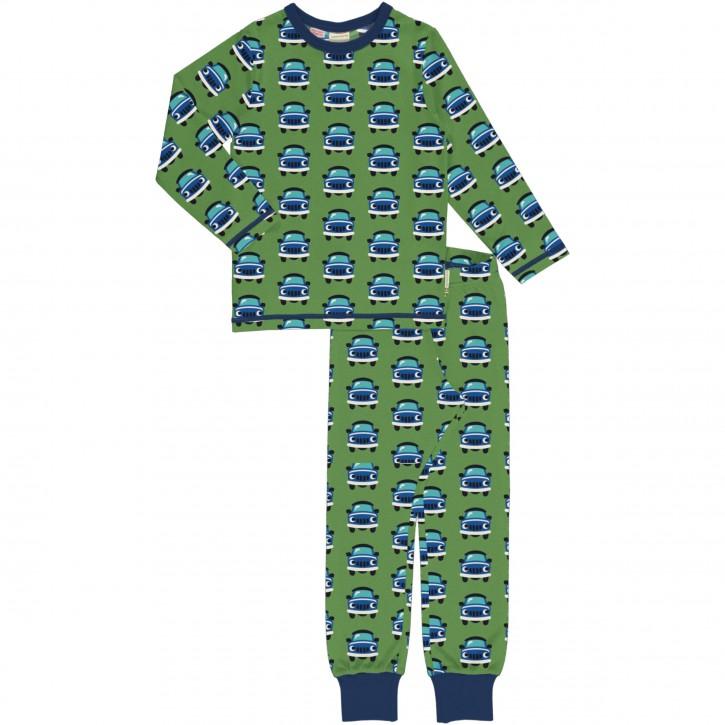 Schlafanzug Set Lang car Auto