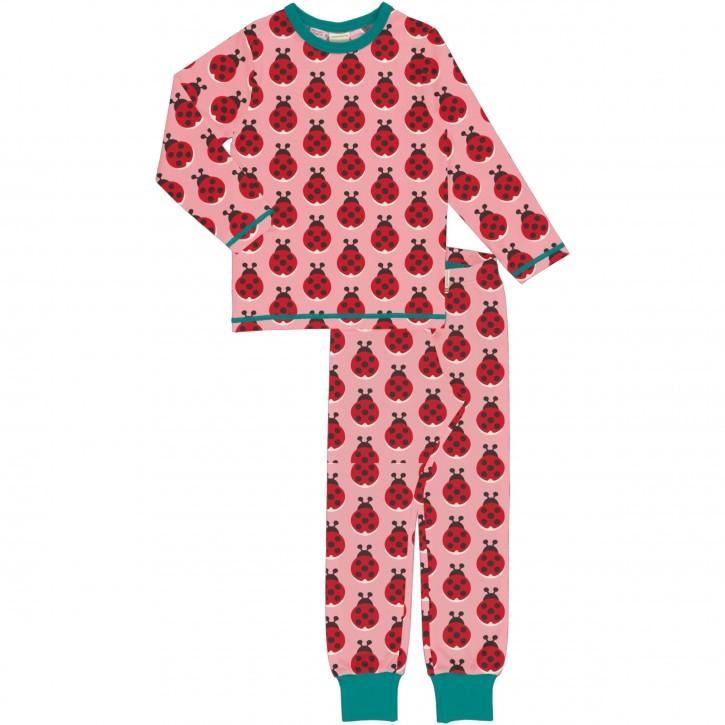 Schlafanzug Set Lang ladybug Marienkäfer