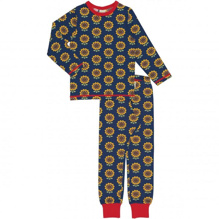 Schlafanzug Set Lang sunflower Sonnenblume
