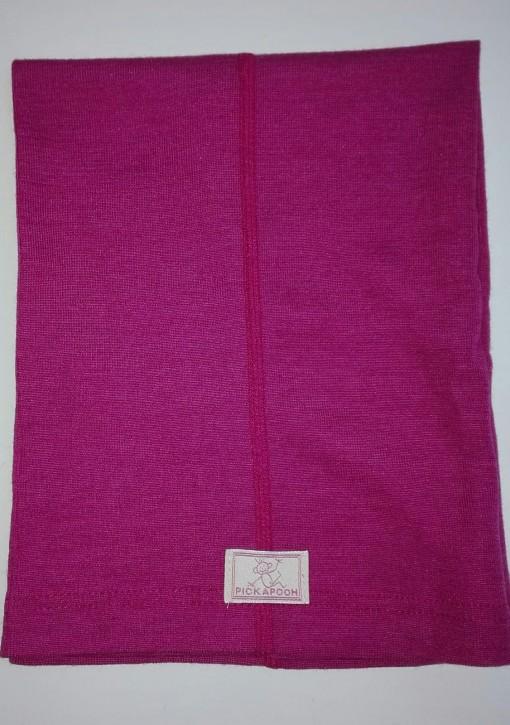 Schlauchtuch Strunzl Wolle Seide pink