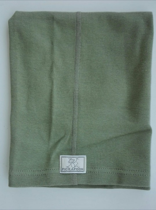 Schlauchtuch Strunzl Bio Baumwolle khaki