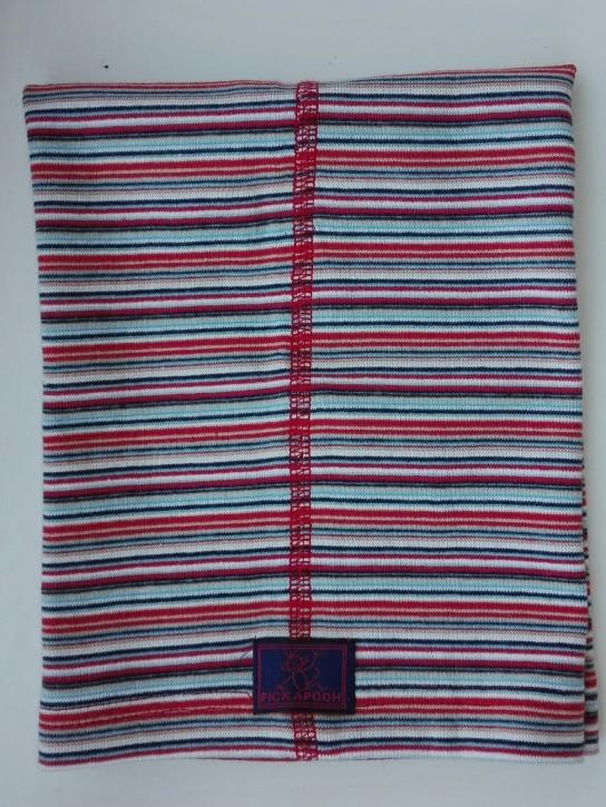 Schlauchtuch Strunzl Bio Baumwolle rot blau bunt