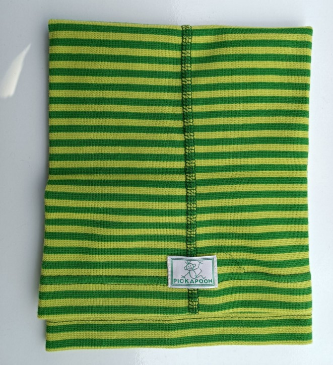 Schlauchtuch Strunzl Bio Baumwolle grasgrün grün
