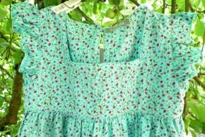 Kleid Wiese grün / 128