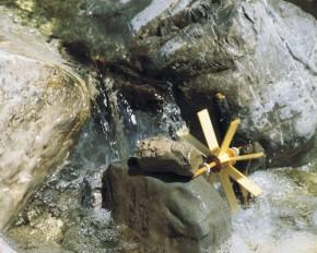 Kleines Wasserrad